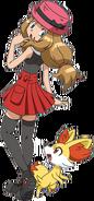 Serena XY anime old (5)
