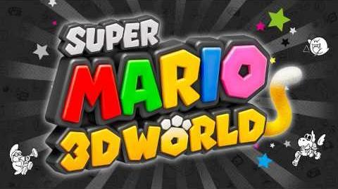 Title Screen (Super Mario 3D World)