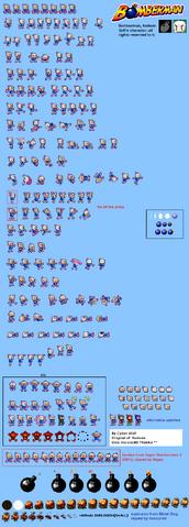 File:Bomberman Sprites.png
