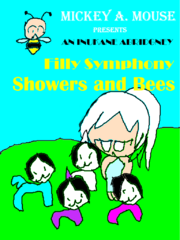 Showers and Bees Filly Symphony Poster