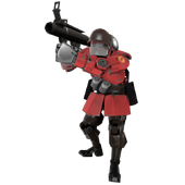Soldierbot red