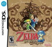The Legend of Zelda Phantom Hourglass Game Cover