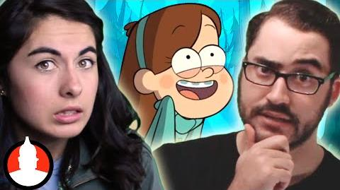 Gravity Falls = Illuminati!? The Gravity Falls Theory - Cartoon Conspiracy (Ep
