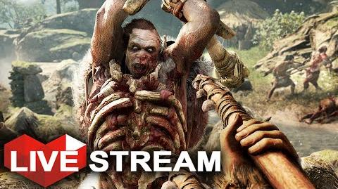 Far Cry Primal Gameplay Ull's Death & Fighting an Udam Army!! Live Stream (Part 9)
