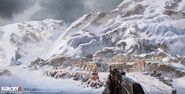 Far Cry 4 DLC Valley of the Yetis concept art by XuZhang (6)