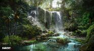 Farcry3 waterfall