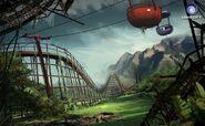 Farcry3 early-concept amusement-park2 scrapped-idea