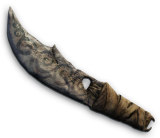 FC3 cutout knife tribalknife