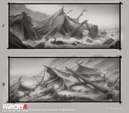 Far Cry 4 DLC Valley of the Yetis concept art by XuZhang (33)