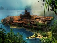 Farcry3 early-concept ship-wreck5