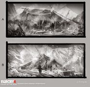 Far Cry 4 DLC Valley of the Yetis concept art by XuZhang (39)