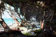 Farcry3 ship-wreck-interior