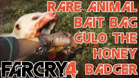 Rare Animal - Crafting Bait Bag - Gulo the Honey Badger - Kyrat Fashion Week - Far Cry 4