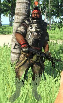 No masked Heavy Gunner