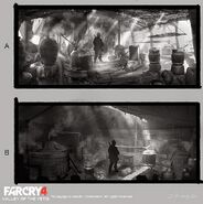 Far Cry 4 DLC Valley of the Yetis concept art by XuZhang (25)