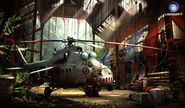 Farcry3 early-concept hind scrapped-idea