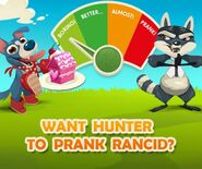 Hunter wants to prank Rancid 1