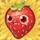 Strawberry on hay