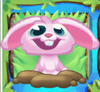 Rob the Rabbit on grass and bridge