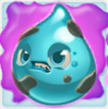Water grumpy on slime