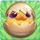 Chicken egg 2-stage on grass