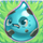 Water grumpy on grass
