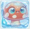 Mushroom under ice