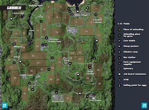 Bjornholm Map