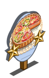Vegetable Tart 2 Star Mastery Sign-icon