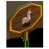 Llama Mastery Sign-icon