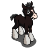 Black Shire Foal-icon