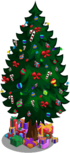Holiday tree 40-59 gifts