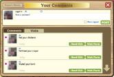 Comment Box Visits