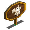 White Squirrel Mastery Sign-icon