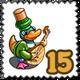 Arab Musician Duk Stamp-icon