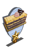 Mocha Blackberry Cake 1 Star Mastery Sign-icon