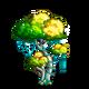 Teal Vine Tree-icon
