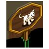 White Lion Cub Mastery Sign-icon