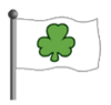 Shamrock Flag-icon
