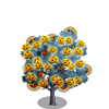 Pumpkin Light Tree-icon