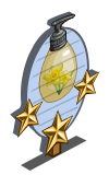 Daffodil Lotion 3 Star Mastery Sign-icon