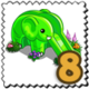 Green Trunk Slide Stamp-icon