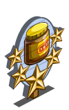 Vegespread 5 Star Mastery Sign-icon