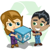 Recycle Gift-icon