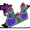 Snowman Family-icon