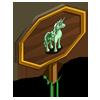 Shamrock Unicorn Mastery Sign-icon