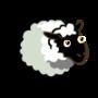 Real White Bright Greenish White Ewe-icon
