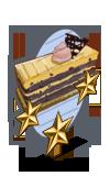 Mocha Blackberry Cake 3 Star Mastery Sign-icon