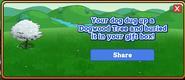 Dogwood Tree Dogtreat Reward