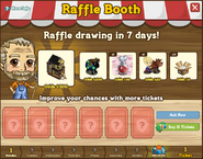 Raffle Booth Draw October 24 2011